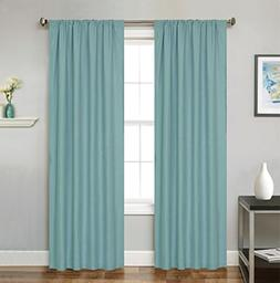 Bednlinens 2 Piece Window Curtain Set Luci Sea foam Greenish