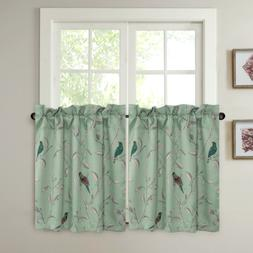 Window Curtain Tiers 58 x 24-Inch Length Set of 2 Tier Curta