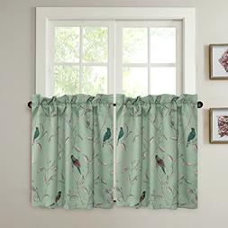 window curtain tiers 58 x 24 inch