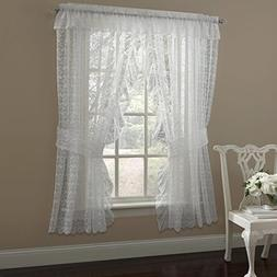 """Sweet Home Collection Window Curtains Treatment Panel 63"""" or"""