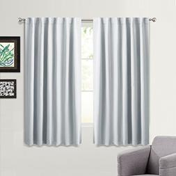 PONY DANCE Room Darkening Curtains Draperies Thermal Insulat