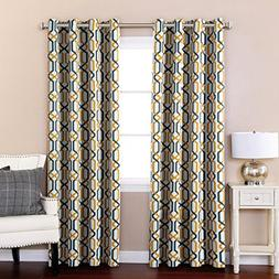 H.Versailtex Window Treatment Thermal Insulated Printed Grom