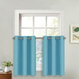 Window Treatment Valances Thermal Insulated Curtains, NICETO