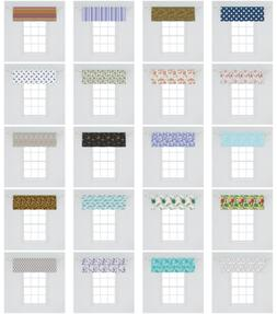 Window Valance Curtain Decor for Kitchen Living Room Bedroom