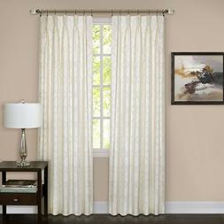 Windsor Pinch Pleat Panel - 34 x 84 - Ivory